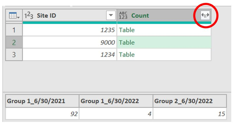 Expanding Columns in Our Table